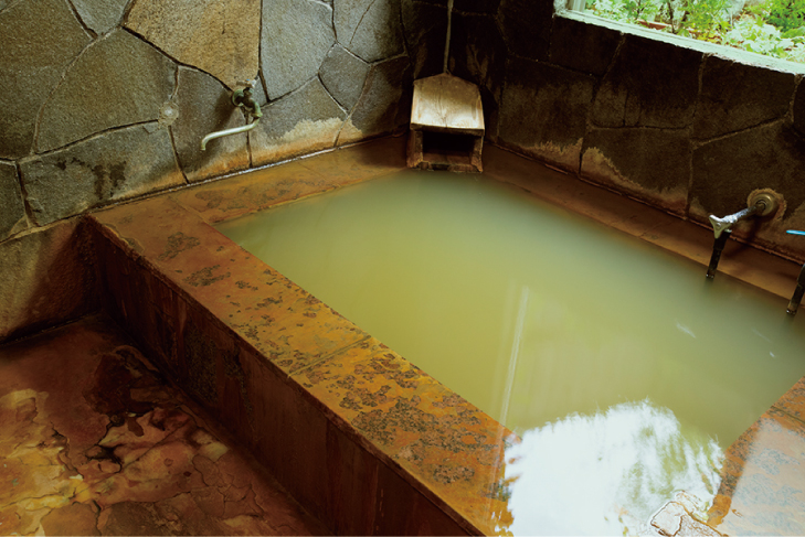 Yatsugatake's natural hot spring 