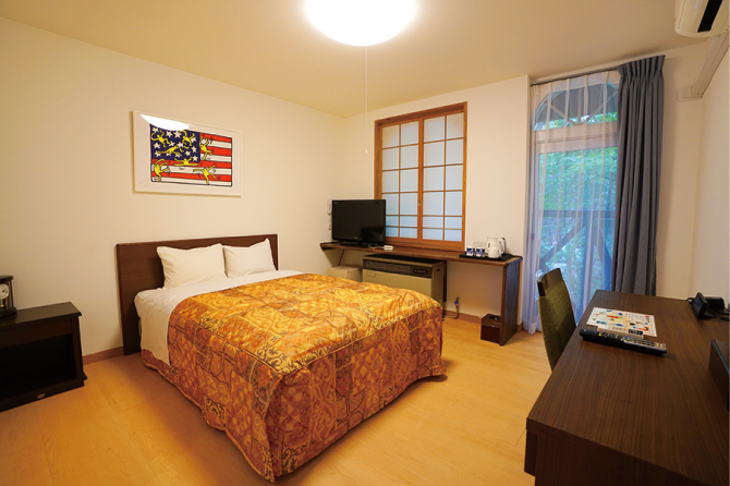 Western-style guestroom (small double)/ 1 room