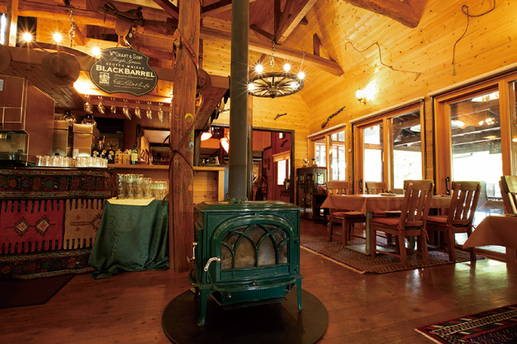 Farm-to-table restaurant with excellent Koshu wine beef steak and Yamanashi wine.