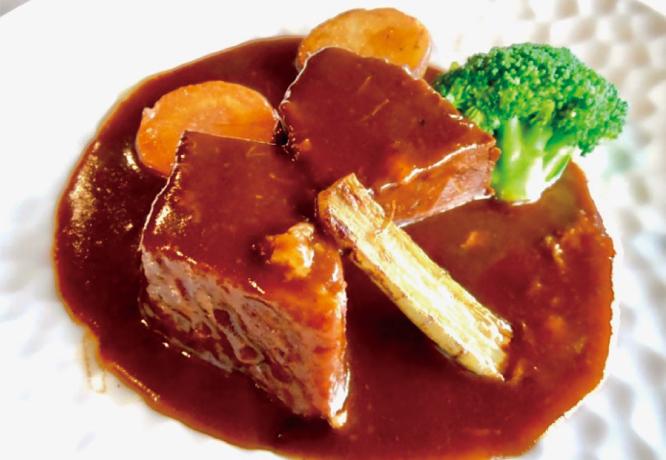 Koshu wine beef stew
