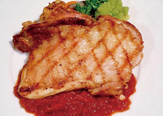 Grilled Shingen chicken