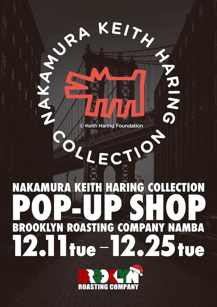 POP-UP SHOP @ BROOKLYNG ROASTING COMPANY NAMBA